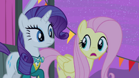 Fluttershy 'we can't disappoint that sweet little filly' S4E14