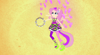 Fluttershy conjuring butterflies with tambourine EG2