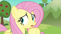 Fluttershy uncertain about playing buckball S6E18