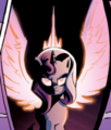 MLP Annual 2013 Alicorn Sunset.png