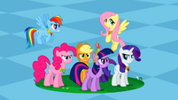Main ponies Spot of Chaos Undone S2E2