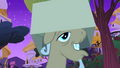 Mr. Greenhooves falls in Fluttershy's cardboard trap S1E26.png