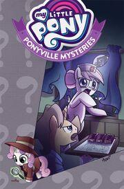 Okładka Komiks Ponyville Mysteries