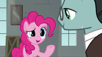 "Pinkie ""the squirting flower's a classic"" S9E14"
