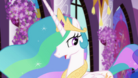 "Princess Celestia ""sounds like Equestrian magic"" EGFF"