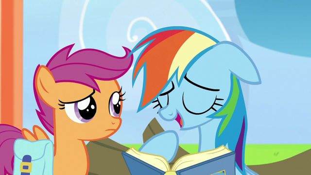 """File:Rainbow Dash """"I was the youngest pony"""" S7E7.png"""