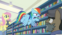 "Rainbow Dash ""you mean lying!"" S9E21"