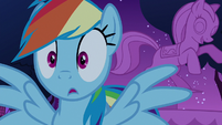 Rainbow Dash hears a noise nearby S6E15