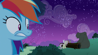 Rainbow finds Fluttershy and her animals S6E15