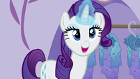 "Rarity ""I am so pleased to present"" S5E14"