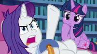 "Rarity ""I intend to find out why"" S9E19"