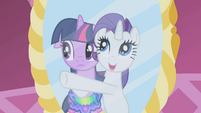 "Rarity ""clamoring for our attention"" S1E03"