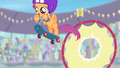 Scootaloo's final jump through the hoop S4E05.png