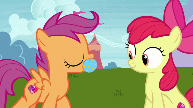 File:Scootaloo brings toy ball to Apple Bloom S7E6.png