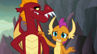 """Smolder """"that's why he's been so sad"""" S9E9"""