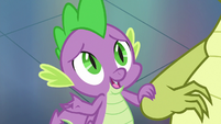 Spike -is there anything you always- S8E24