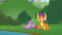 Spike laying around doing nothing S8E24