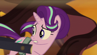 Starlight runs away from fire geysers S8E19