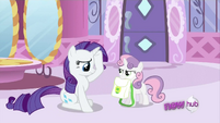 Sweetie Belle mad S2E23