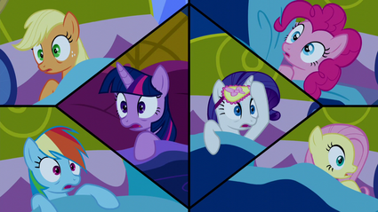 The Mane Six wake up S5E13