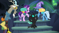 Thorax --we'll be spotted for sure-- S6E26