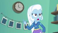 "Trixie ""how is it already three o'clock?"" EGFF"