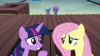 Twilight --why does everypony assume we're spies--- S5E23