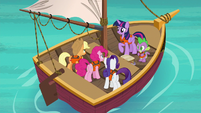 Twilight Sparkle explains to her friends S6E22