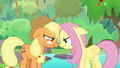 AJ and Fluttershy mad at each other again S8E23.png