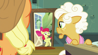 Apple Bloom calling everyone outside S9E10
