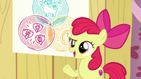 Apple Bloom says --So...-- S6E4