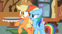 Applejack and Rainbow Dash S02E08