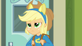 Applejack frowning with pony ears EG.png