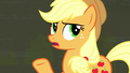 """Applejack questioning Plaid's """"good ideas"""" S6E9.png"""