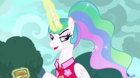 "Celestia ""well, they hurt less than"" S9E13"