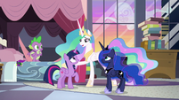 "Celestia ""you and your friends have proven"" S9E17"