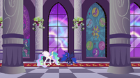Celestia and Luna watch crystal aurora S3E02