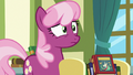 Cheerilee notices something behind Twilight S7E3.png