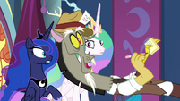 "Discord ""who will take over?"" S9E1"