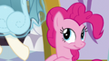 Dress being levitated from Pinkie's mane S5E14.png