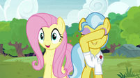 "Fluttershy ""you can open your eyes!"" S7E5"