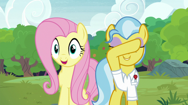 """File:Fluttershy """"you can open your eyes!"""" S7E5.png"""