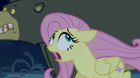 Fluttershy and Harry fleeing in terror S6E15