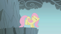 Fluttershy getting ready to jump S1E07.png