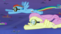 Fluttershy surpasses her record S2E22.png