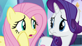 "Fluttershy whispering ""that's not very reassuring"" S6E1.png"