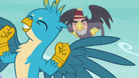 Gallus overjoyed S8E2