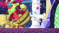 Goat stampedes into bucket of apples S5E3