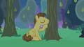 Grand Pear kissing his pear trees S7E13.png