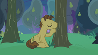 Grand Pear kissing his pear trees S7E13